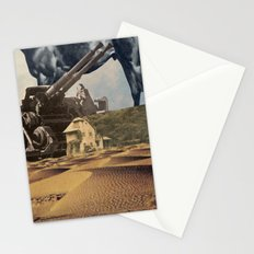 House In Desert Stationery Cards