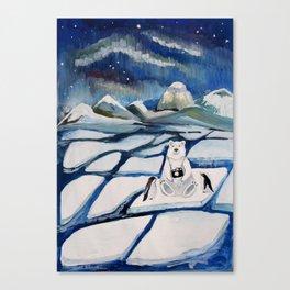 north bear Canvas Print