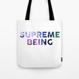 Supreme Being Tote Bag