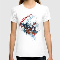 captain silva T-shirts featuring CAPTAIN by Lera Razvodova