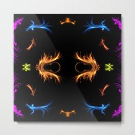 Flares Flurry Metal Print