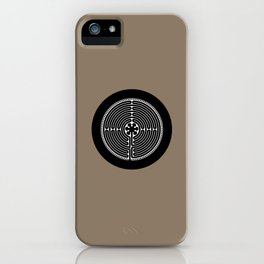 Labyrinth / Medieval Maze iPhone Case