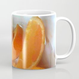 Orange Quarters Coffee Mug