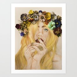 Mary Jane Kunstdrucke