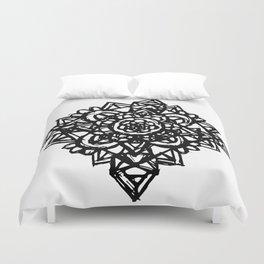 Crystal Flower  Duvet Cover