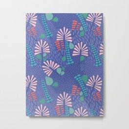 Botanical Geometry-H01 Metal Print