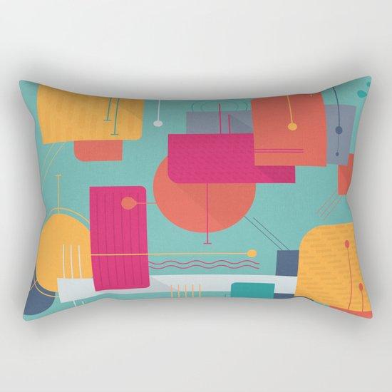 Thinking Of Summer Rectangular Pillow