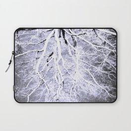 Twisted Perception gray Laptop Sleeve