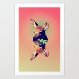Fawny Art Print