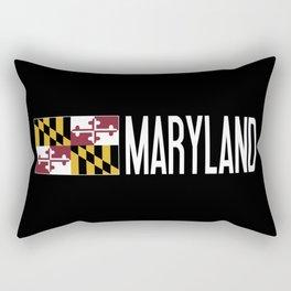 Maryland: Marylander Flag & Maryland Rectangular Pillow