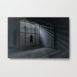 Lightbox Metal Print