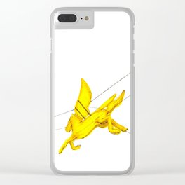 Pegasus Clear iPhone Case