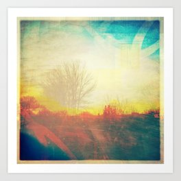 Friday Morning Sunrise Art Print