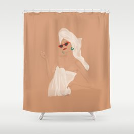 Spa Day Shower Curtain