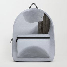 Shapes in snow 1 Backpack