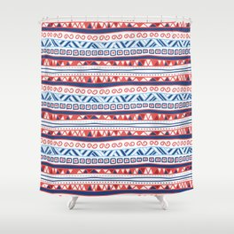 Native Graphism Shower Curtain