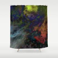 interstellar Shower Curtains featuring Interstellar  by AURA by MJ