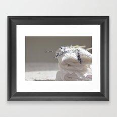 Smell of lavender Framed Art Print