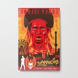 THE WARRIORS :: THE WARRIORS Metal Print