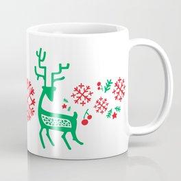 Deers Xmas Coffee Mug