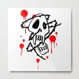 Bloody Sucker Metal Print