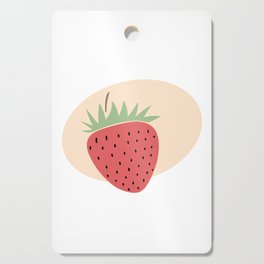 Delicious strawberries Cutting Board