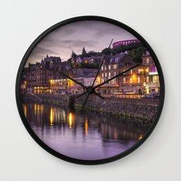 Oban Dusk Wall Clock