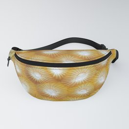Hard Coral Polyp Pattern Fanny Pack