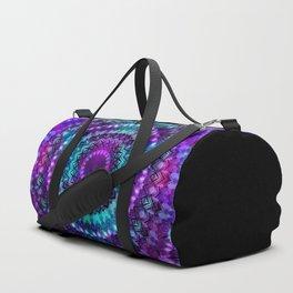 Celestial Midnight Mandala Duffle Bag