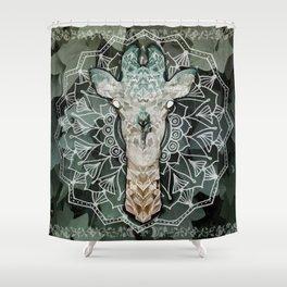 The Giraffe. Shower Curtain
