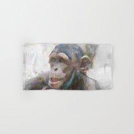 Artistic Animal Young Chimp Hand & Bath Towel