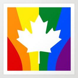 Canadian Pride Art Print