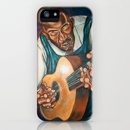 Down  Home Blues iPhone Case