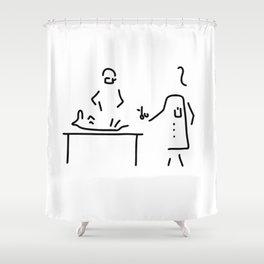 veterinarian veterinary medicine surgeon Shower Curtain