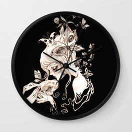 Alice Dreaming Wall Clock