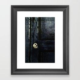 Doctor Who: Who has the Tardis key? Framed Art Print