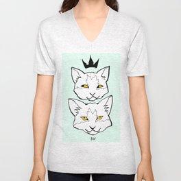 "Meow ""Color"" Unisex V-Neck"