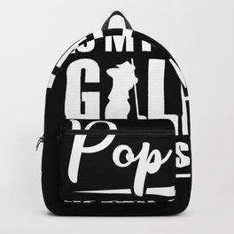 Golf Pop Pop Backpack