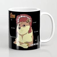doge Mugs featuring Diamond Doge by merimeaux