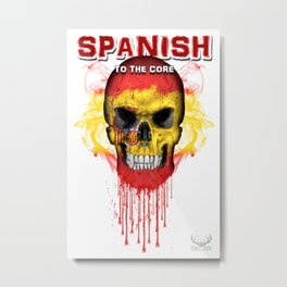 To The Core Collection: Spain Metal Print