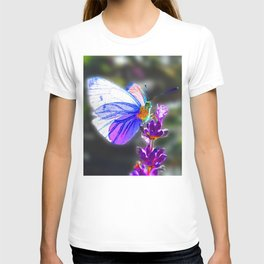 Butterfly on the Lavender T-shirt