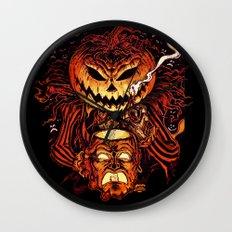 Halloween Pumpkin King (Lord O' Lanterns) Wall Clock