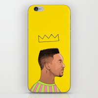 fresh prince iPhone & iPod Skins featuring Fresh Prince by Fresh Prints