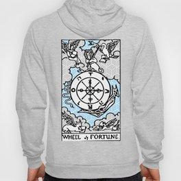 Geometric Tarot Print - Wheel of Fortune Hoody