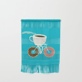 Coffee and Donuts Wall Hanging