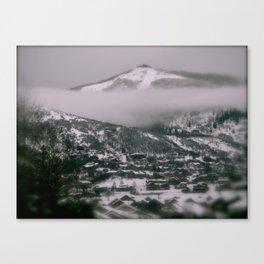 Foggy Blanket Canvas Print
