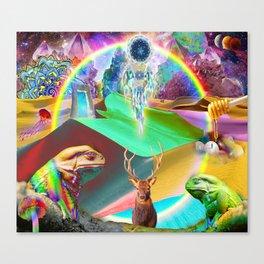 'Interstellar Vision Quest' Canvas Print