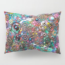 Chase the Gears Pillow Sham