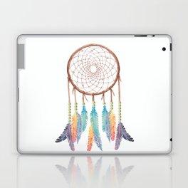 Gypsy Dreams Dreamcatcher on white with Gypsy Dreams Trim Laptop & iPad Skin