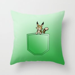 Pocket Yuki Throw Pillow